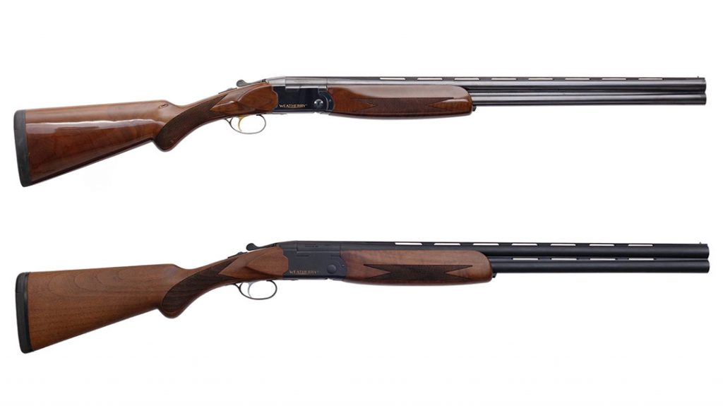 The Weatherby Orion 20-Gauge Orion I and Matte Blue field models.