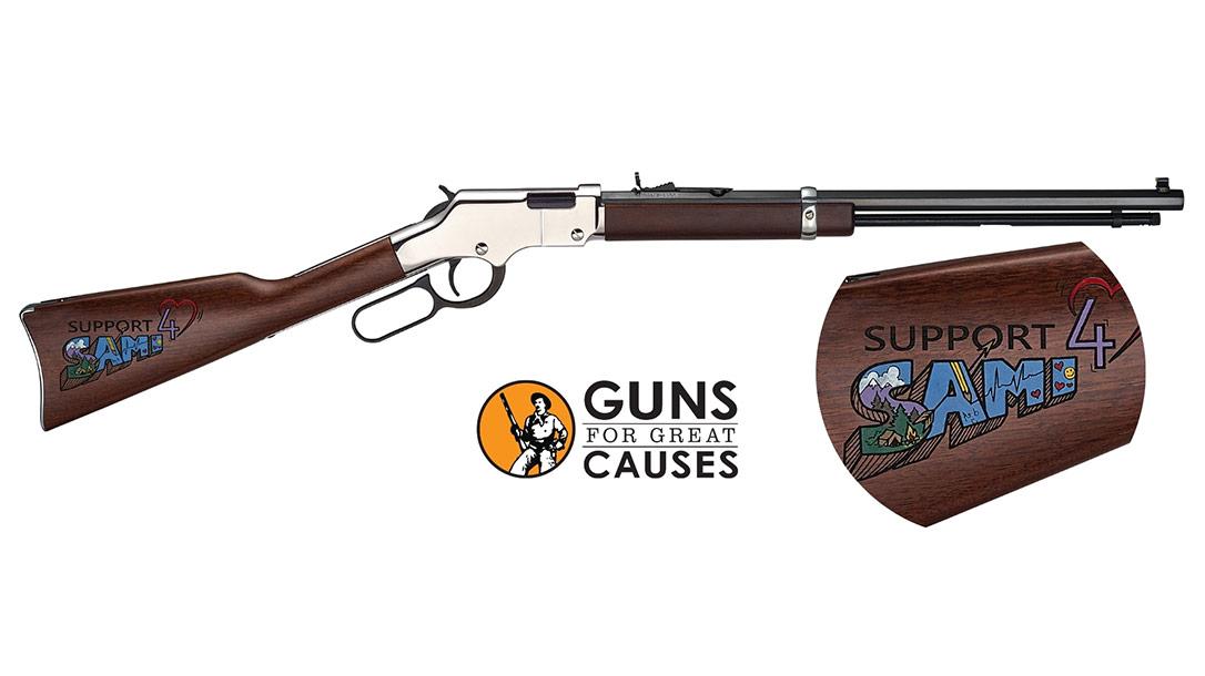 Henry Donates 65 Rifles