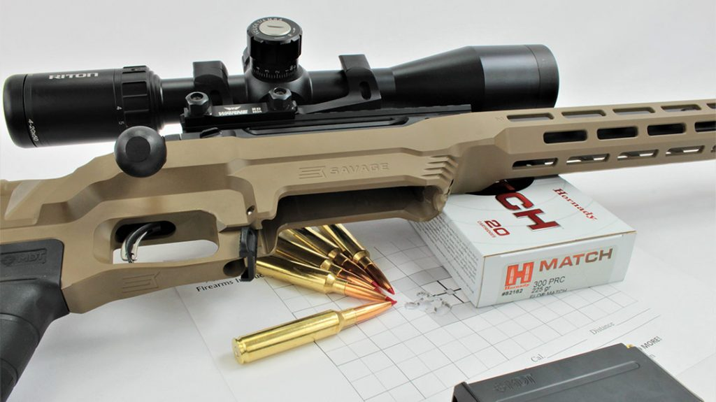 Hornady ELD MATCH produced sub-MOA accuracy at several different ranges. And it held that accuracy out to 1,040 yards.