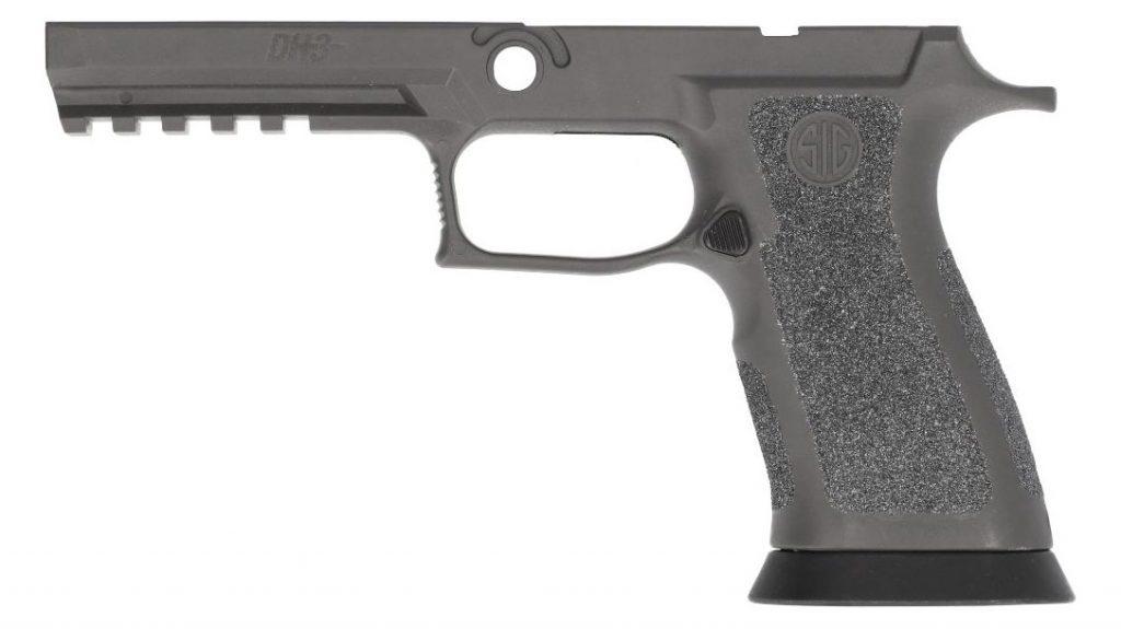 The SIG Sauer P320 X-Series DH3 TXG grip module.